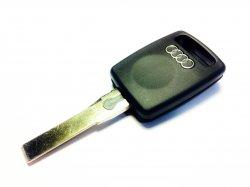 Audi бланк ключ под чип HU66