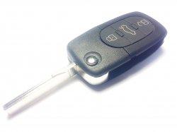 Audi ключ 3 кнопки + panic (315 MHz) E