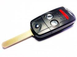 Acura ключ выкидной 2 кнопки + panic (315 MHz) чип 46