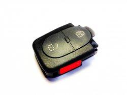 Audi часть ключа 2 кнопки + panic