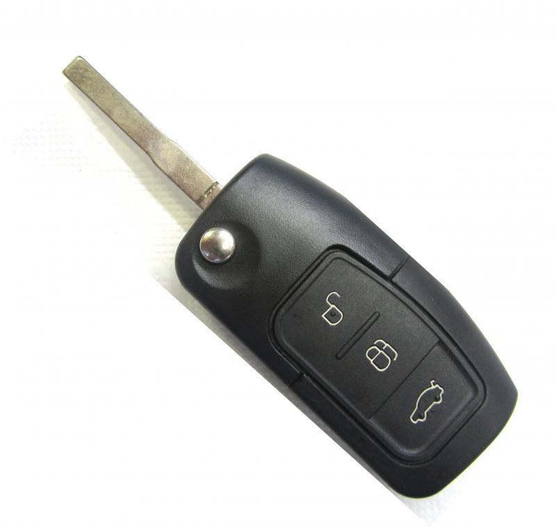 Ford ключ выкидной 3 кнопки (433 MHz) HU101