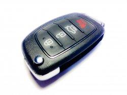 Hyundai выкидной ключ 4 кнопки i40