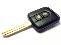 Nissan ключ 2 кнопки (433 MHz) чип 60
