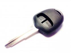 Mitsubishi заготовка ключа 2 кнопки