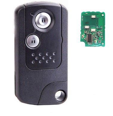 Honda ключ 3 кнопки (433 MHz) чип 46