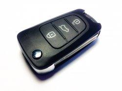 Hyundai ключ выкидной 3 кнопки (433 MHz) чип 46 I20