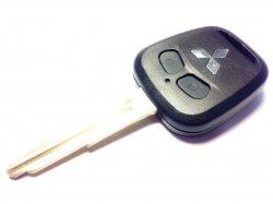 Mitsubishi бланк ключ 2 кнопки
