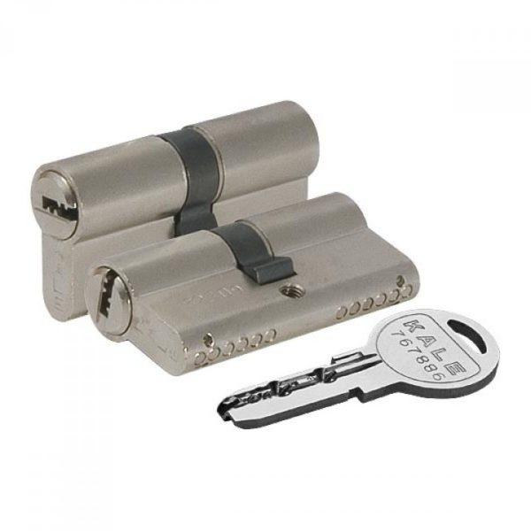 ЦМ Kale 164 SN/80мм /30*10*40/ 5кл (ключ/ключ)никель