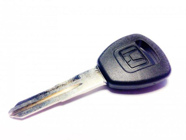 Honda бланк ключ под чип HON58