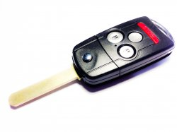 Acura ключ выкидной 3 кнопки + panic (315 MHz) чип 46