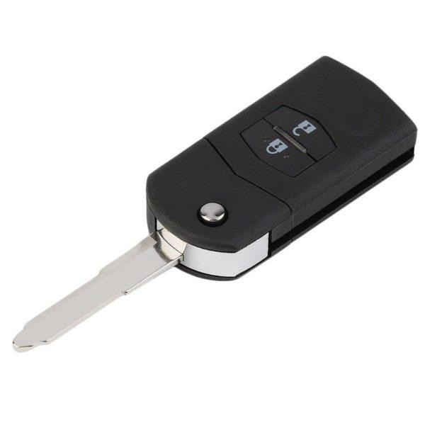 Mazda ключ выкидной 2 кнопки (433 Mhz) чип 4d-63