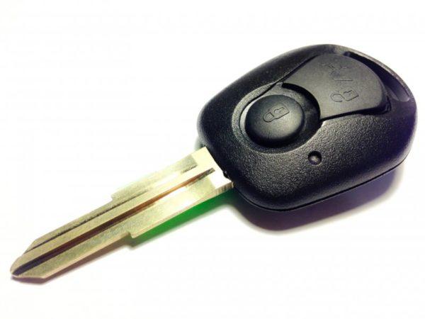 SsangYong заготовка ключа 2 кнопки