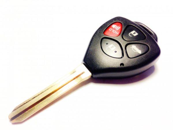 Toyota ключ 4 кнопки (315 MHz) чип 4d-67 TOY43