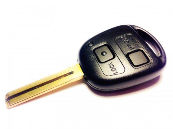Toyota ключ 2 кнопки (433 MHz) чип 4C TOY48