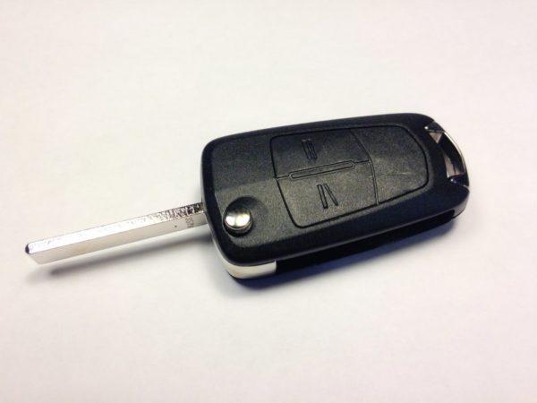 Opel ключ выкидной 2 кнопки (433 MHz) ASTRA H