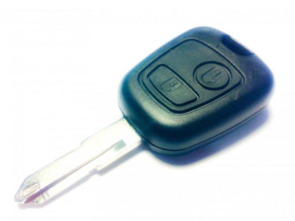 Peugeot заготовка ключа 2 кнопки NE72