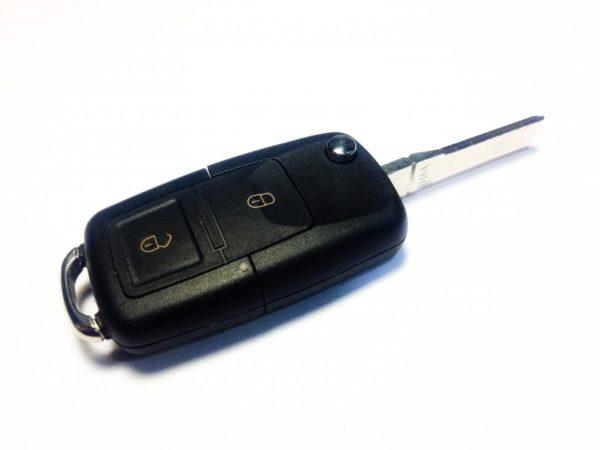 Volkswagen ключ выкидной с дистанционным управлением 2 кнопки (433 MHz) 1JO 959 753 AG, СT