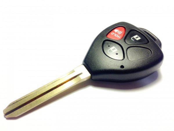 Toyota ключ 3 кнопки (315 Mhz) чип 4d-67 TOY43