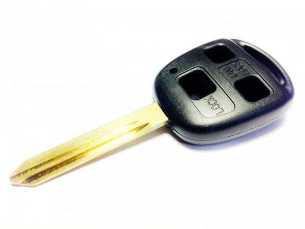 Toyota бланк ключ 3 кнопки TOY47