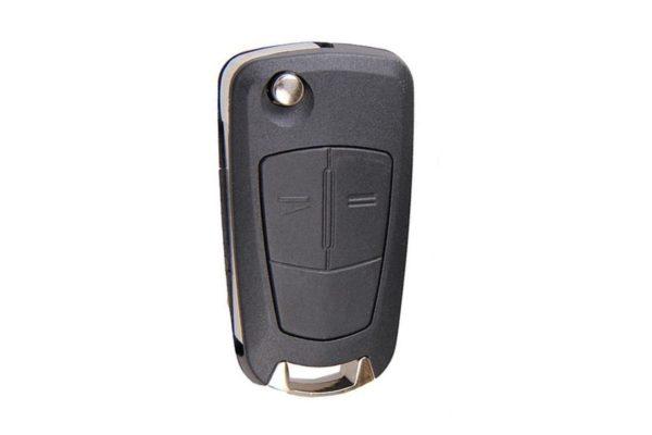 Opel бланк ключ выкидной 2 кнопки ASTRA H