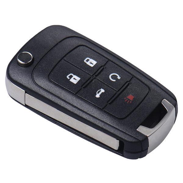 Chevrolet корпус выкидного ключа 5 кнопок