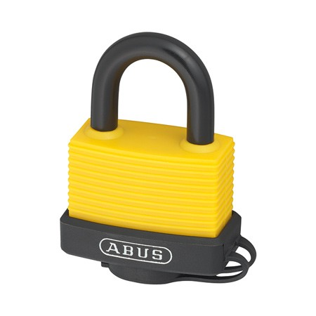 ABUS 717AL/45 YELLOW C/BLISTER