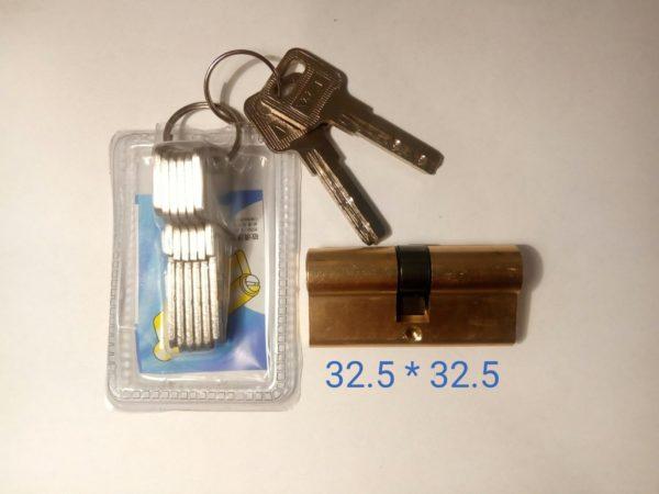 Цилиндр латунь 32.5*32.5 65мм