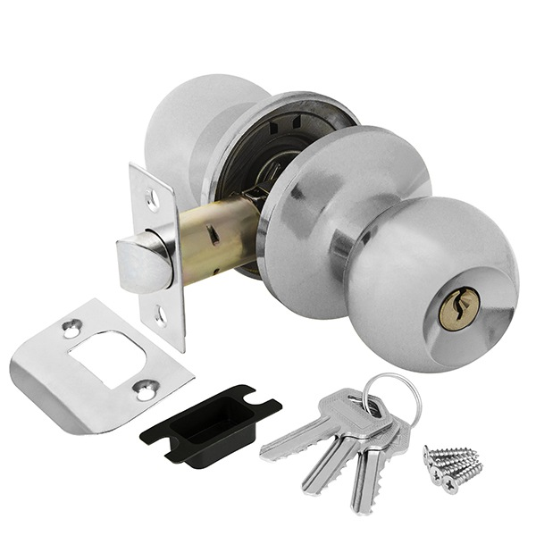 Ajax 6082 CP-E с ключом-фиксатором (хром)