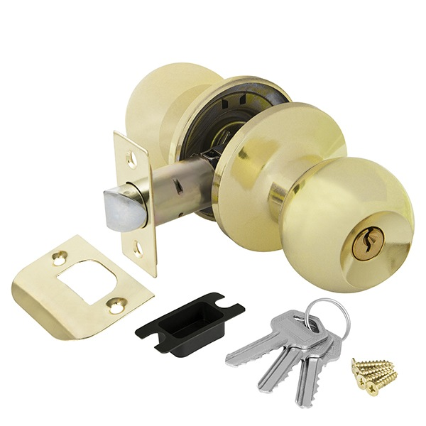 Ajax 6082 PB-E с ключом-фиксатором (золото)